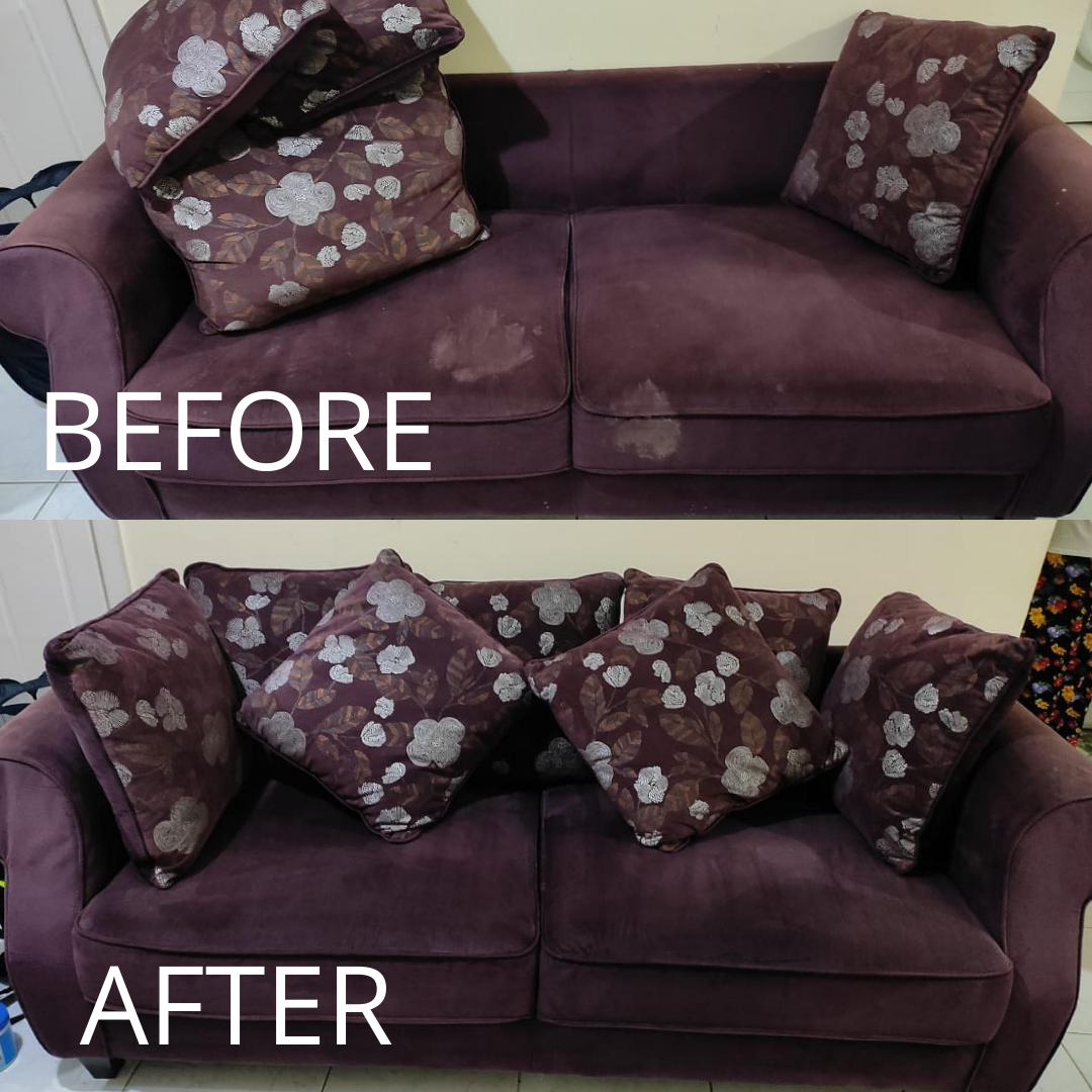 Sofa Cleaning - Karama - Before & After