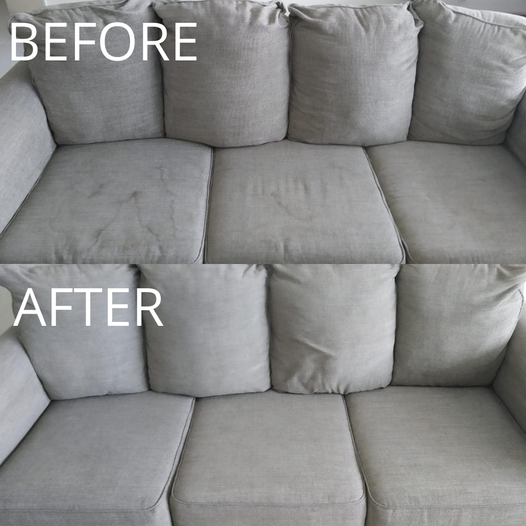 Sofa Cleaning - Nadd Al Hamar - Before & After