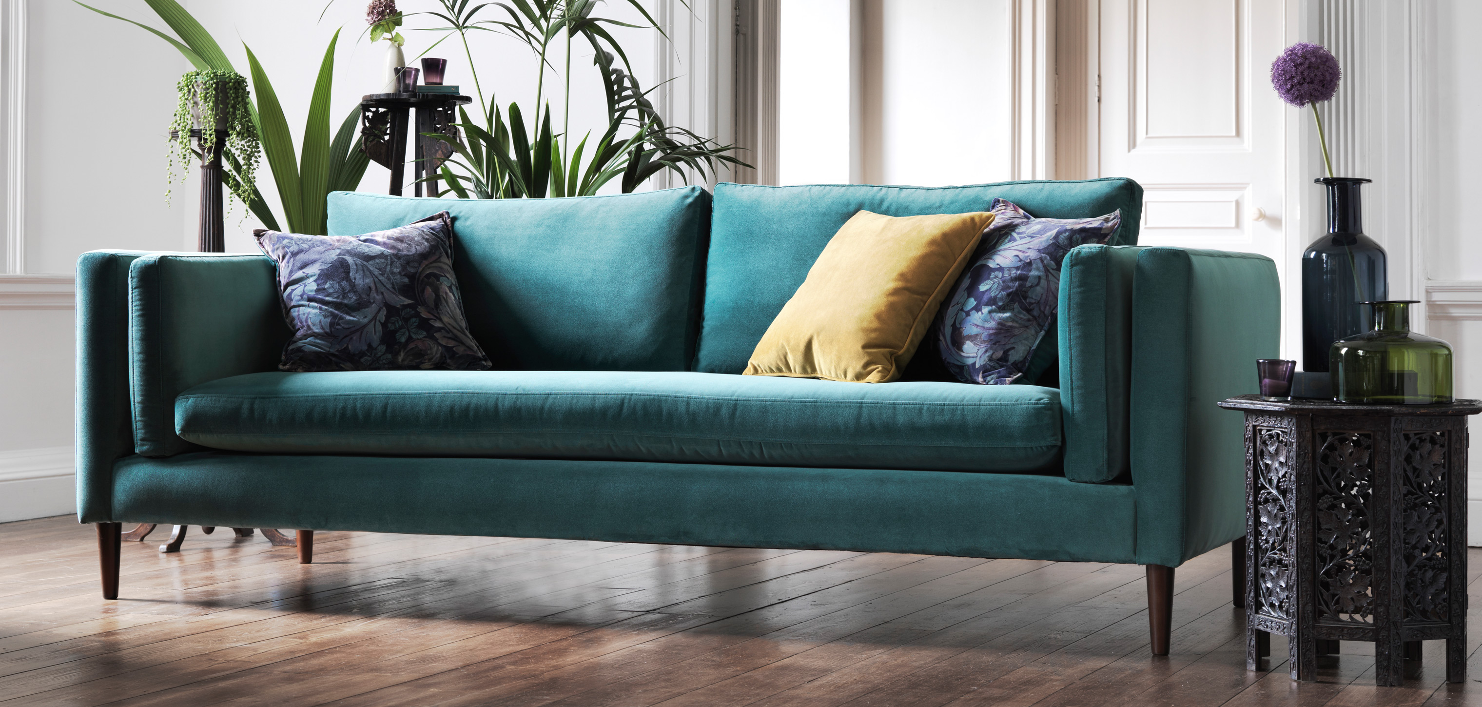 How To Clean Your Velvet Sofa