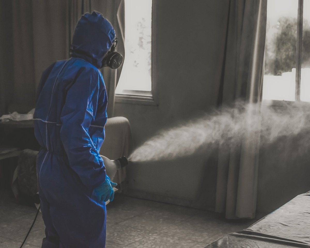 disinfection fogging